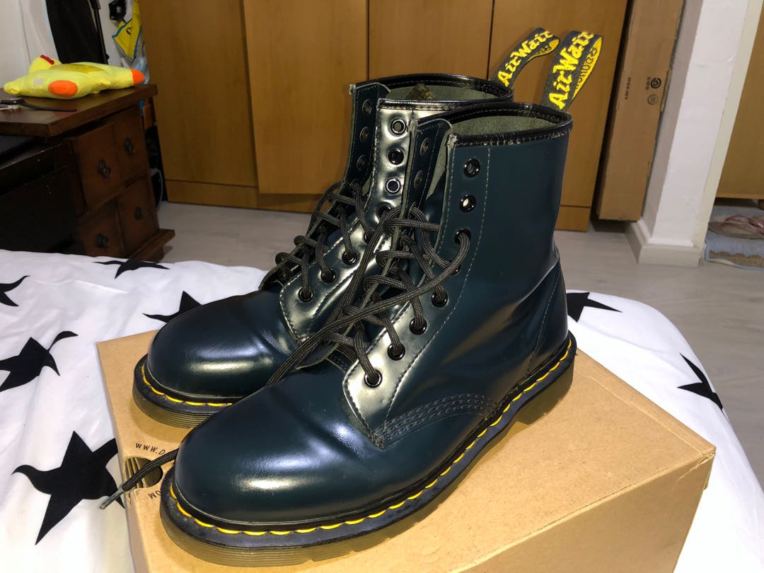 Dr. Martens 1460 Navy Smooth, Men s Fashion, Footwear, Boots on Carousell 8b794bdc8b24
