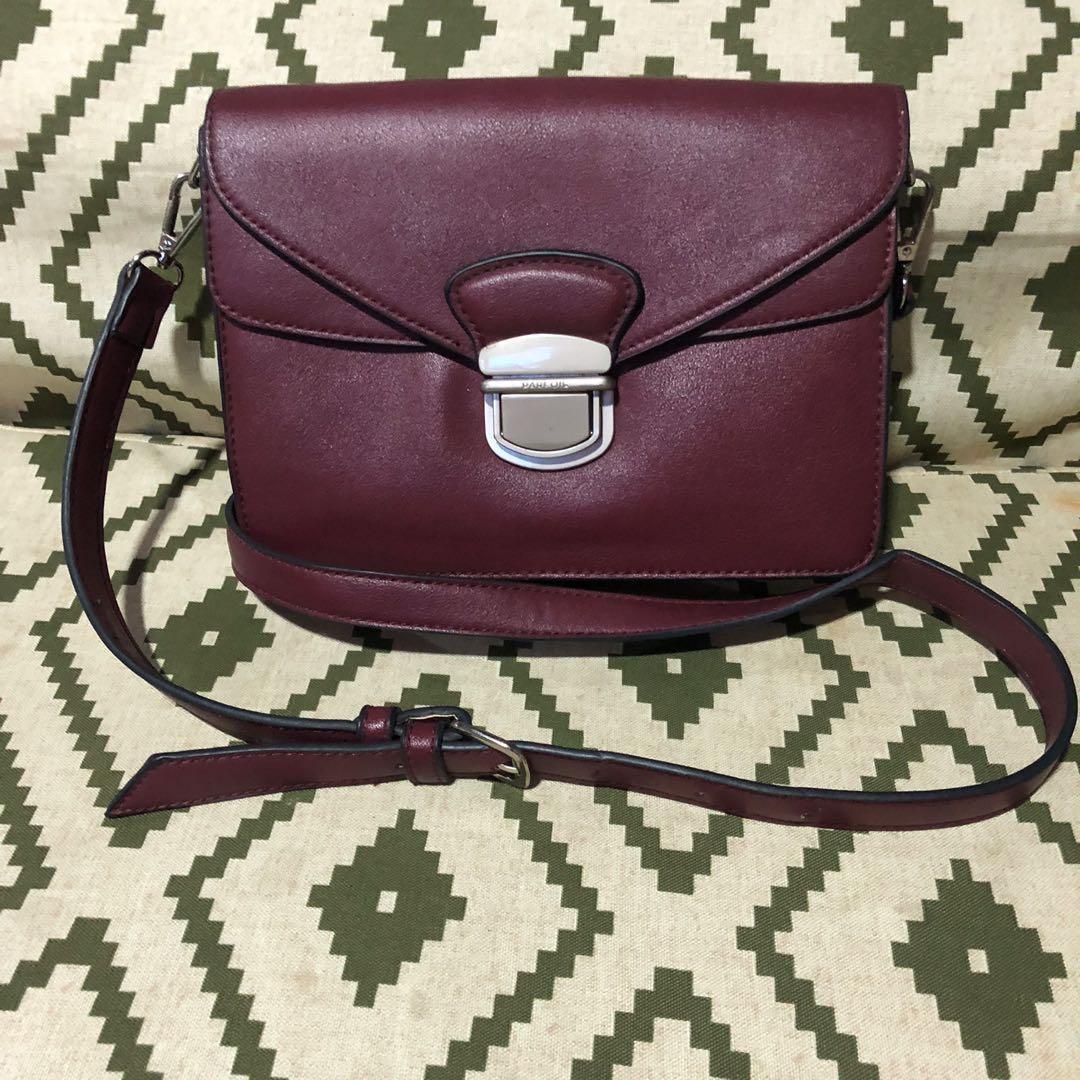 9adbd170cb94 ⚡️FLASH SALE! Parfois wine red sling bag