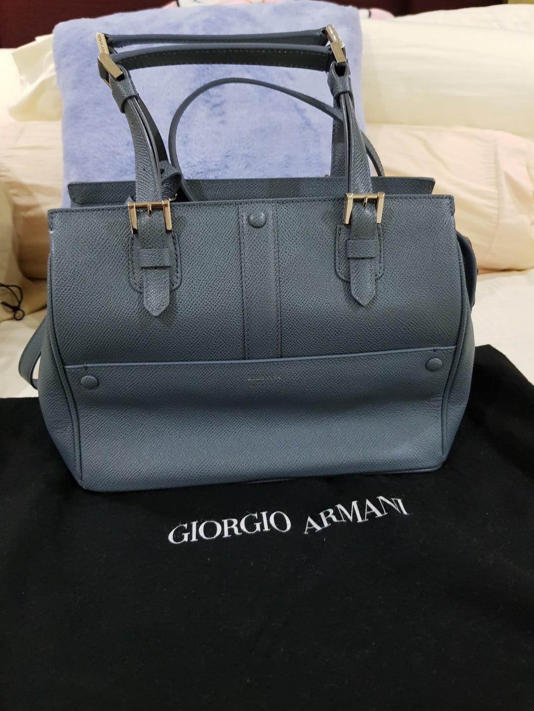 01504084d89 Giorgio Armani Small Sling Bag (blue), Women s Fashion, Bags ...