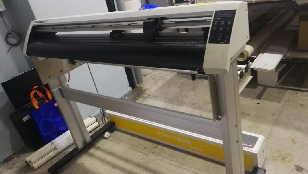 Graphtec cutting plotter, Design & Craft, Others on Carousell