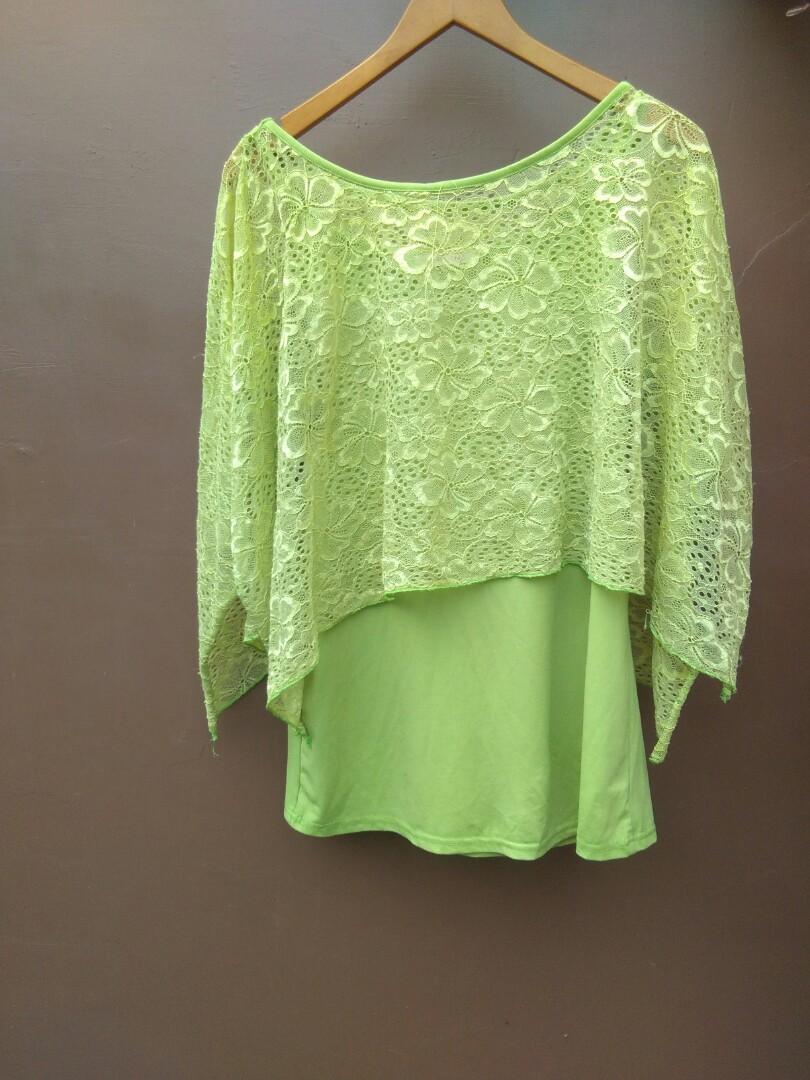 Green top brokat