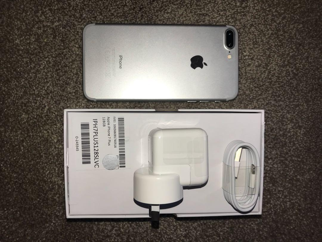 Grey iPhone 7 PLUS 128G