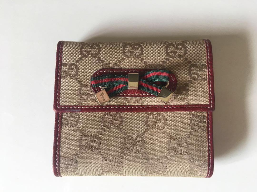 0349cb0734e Gucci ladies wallet