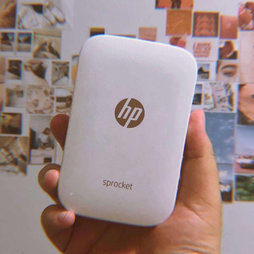HP Sprocket Portable Bluetooth Photo Printer (White)
