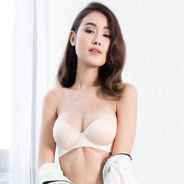 459ad8904cac4 I M IN Oomph! 2-Way Wireless Super Push Up Strapless Bra in Nude - M ...