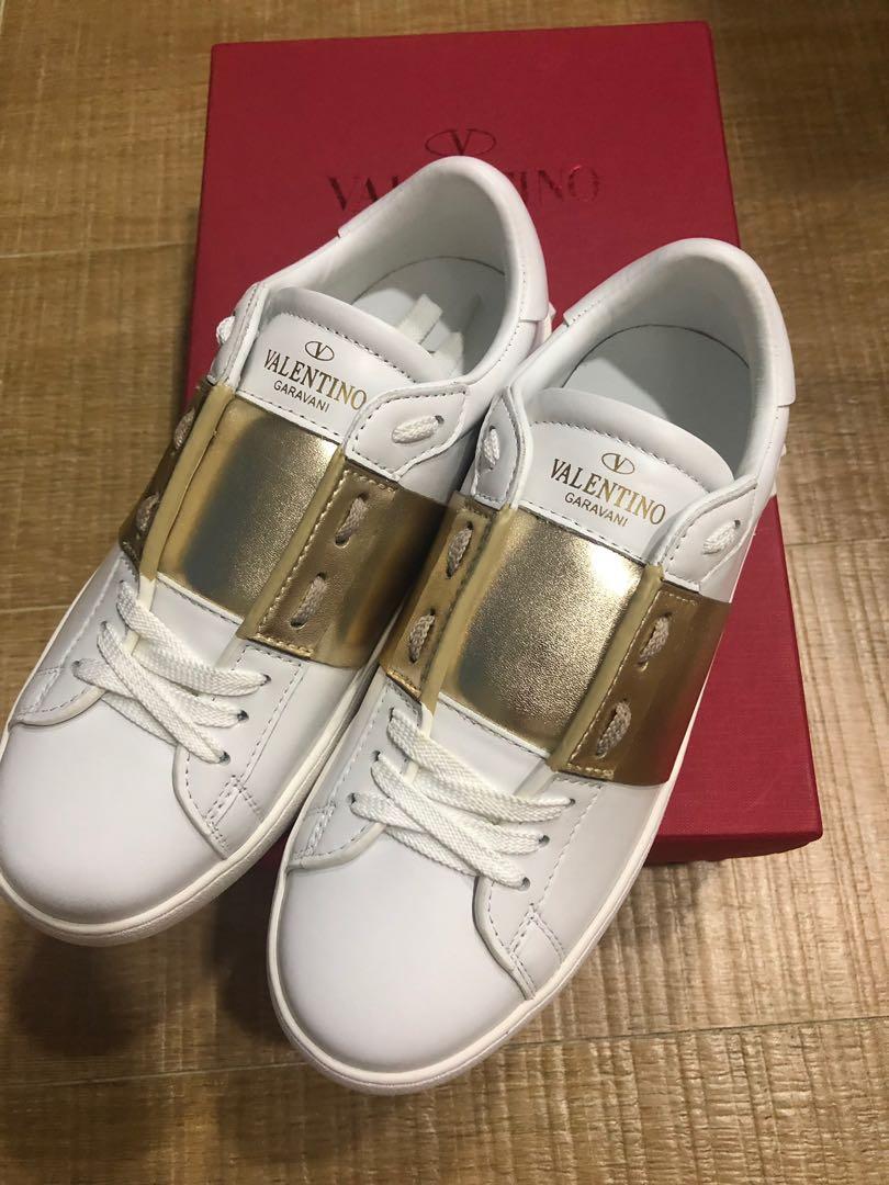 Instock Valentino garavani sneaker gold