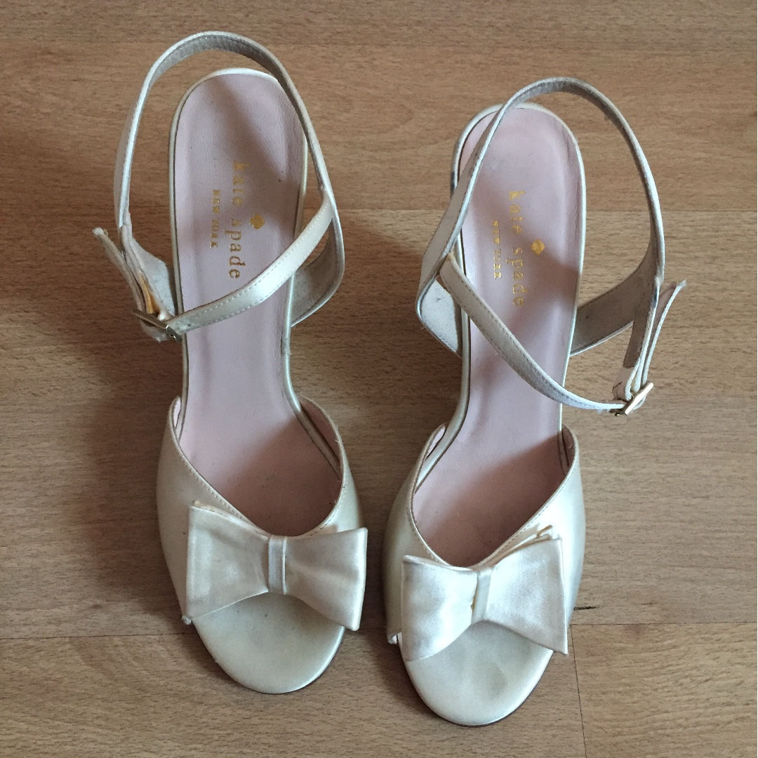 b6b26b2563ad Kate Spade wedding shoes