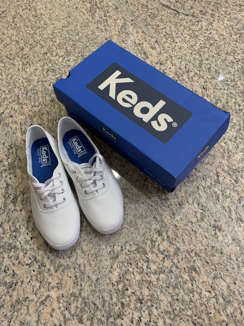 90afbbe3445 Keds Champion Originals White Canvas Sneaker