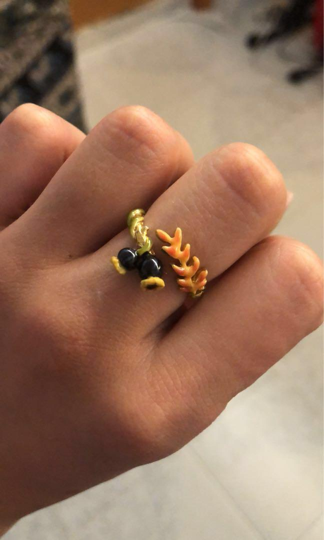 LES NEREIDES 花環戒指