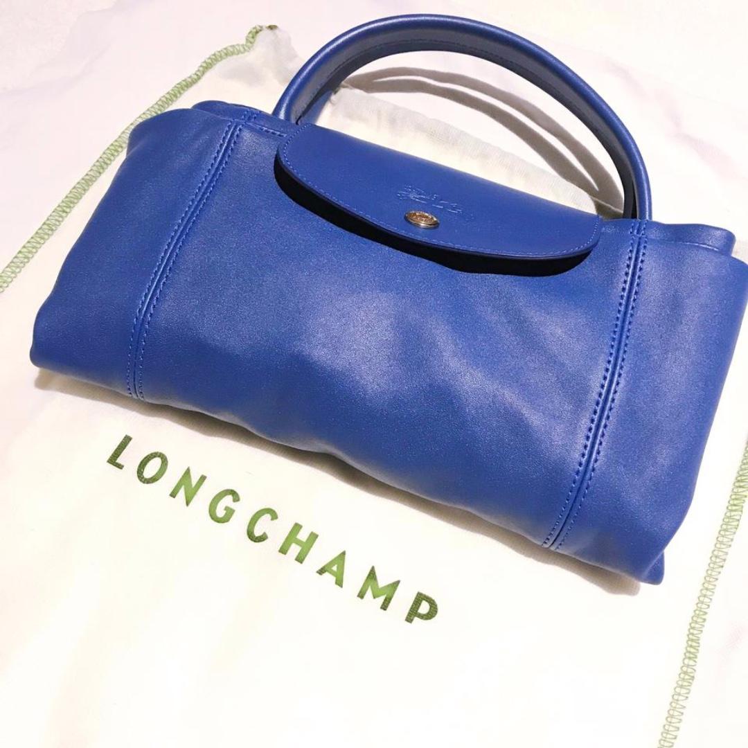 Longchamp - LE PLIAGE CUIR TOP-HANDLE M (New) 35f302994b745