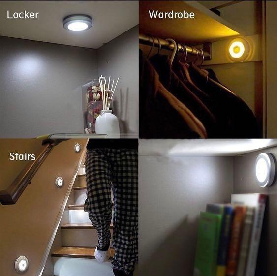 Motion Activated LED Night Light
