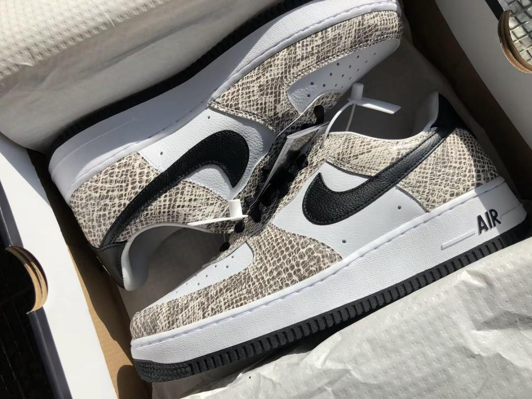 Nike Air Force 1 COCOA SNAKE AF1 Atmos