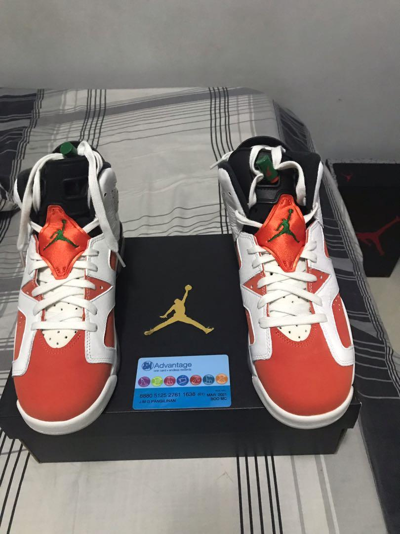 cheaper 26583 ab7d8 Nike Air Jordan6 Retro size 7y Gatorade colorway on Carousell