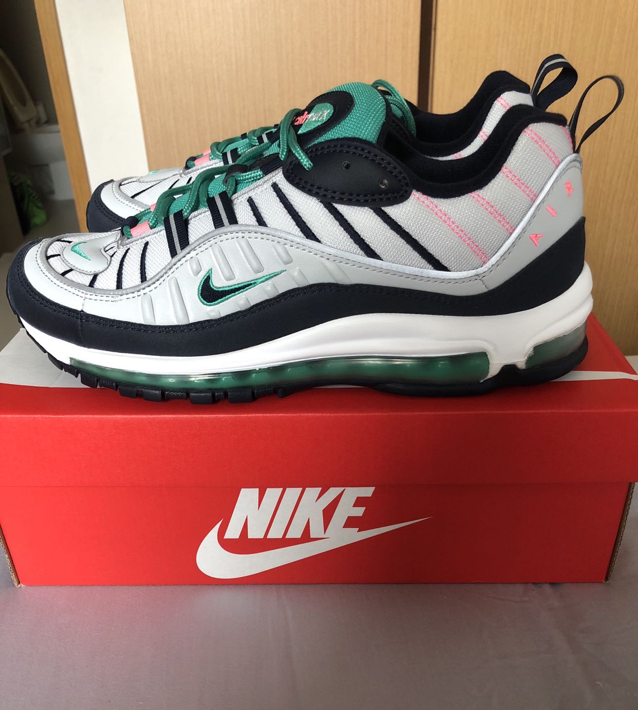 eef6b383a6 Nike Air Max 98 tidal waves miami south beach, Men's Fashion, Footwear,  Sneakers on Carousell