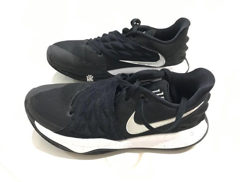 70dfe23748f2 Nike Kyrie Low Black 2018 Basketball Shoes