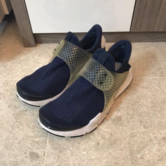 3a017b29f68e Nike Sock Dart Navy Blue Fragment Obsidian US 8 Used