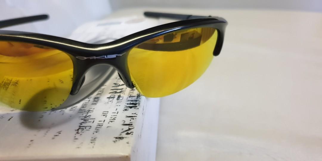90bf977f47 Oakley Half Jacket sunglasses - Jet Black frame with Fire lens (03 ...