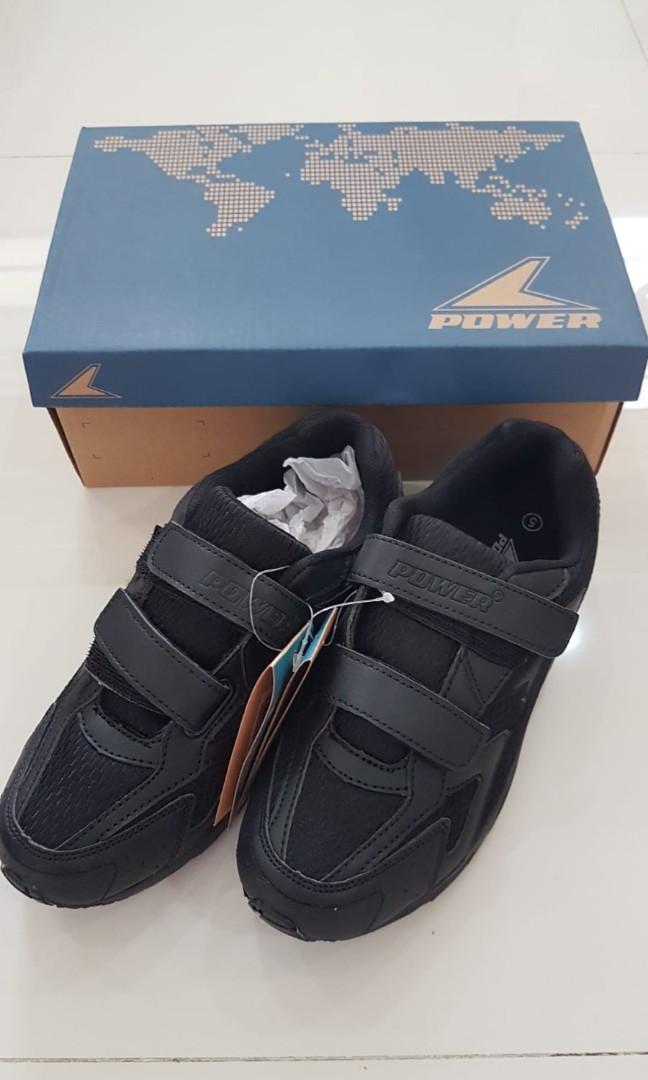 School Shoe (Black) - BATA, Babies