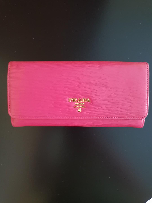 d0b920aa695d ... uk prada hot pink wallet luxury bags wallets wallets on carousell 044c1  fe33f