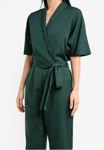 35bbeae0dbbe PRELOVED zalora army green jumpsuit