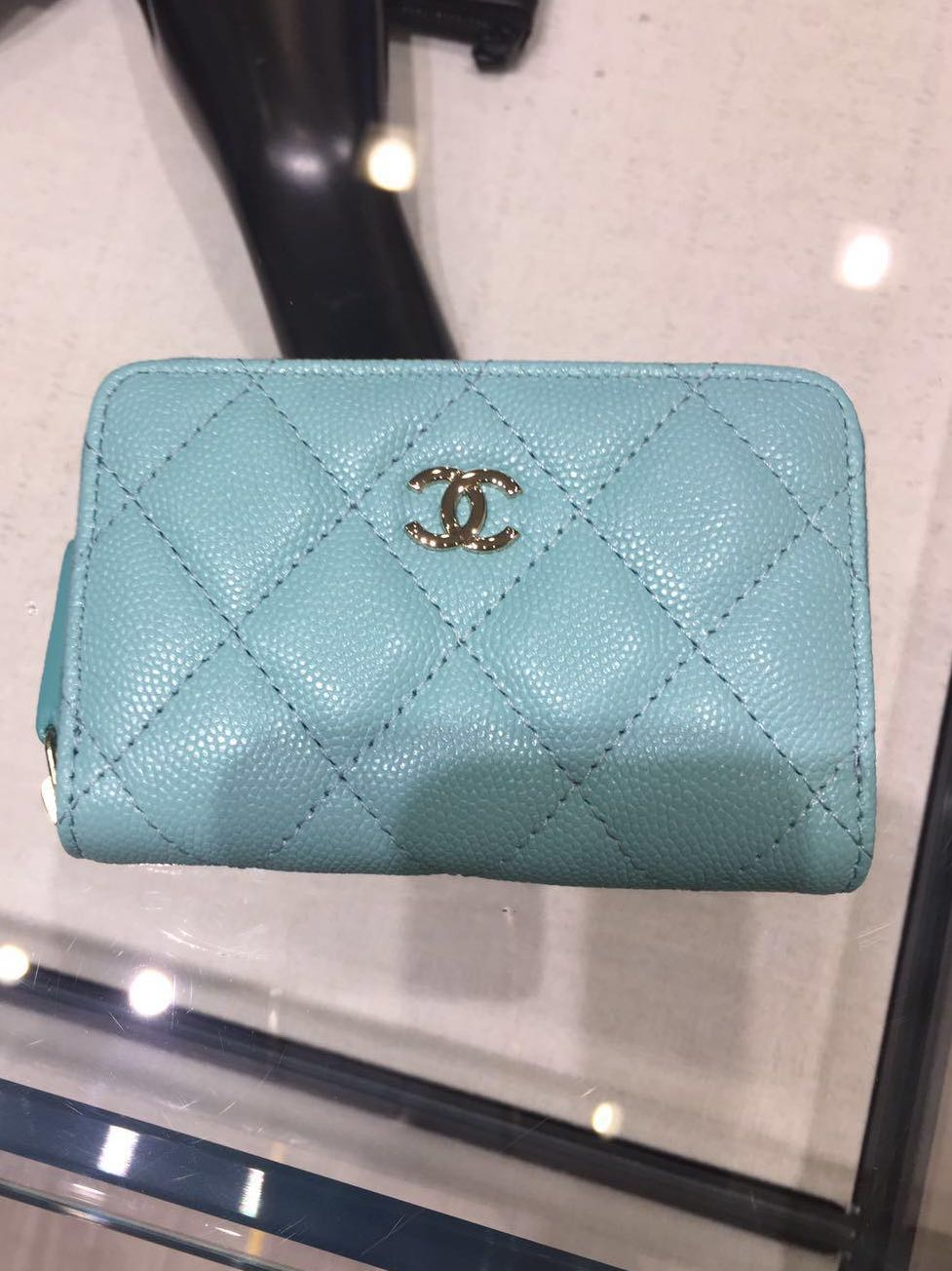 9b3c1ae83614 Reserved in a flash) Chanel 19C Zip Around Coin/Cardholder in ...