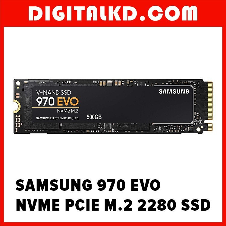 (Clearance Sales) Samsung 970 EVO 500GB NVMe PCIe SSD (MZ-V7500BW)(Sealed)