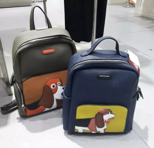 Tas Ransel Hush Puppies Woofy Backpack Authentic Original c77eb8b30d