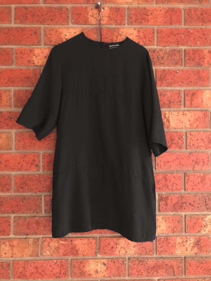 The Fifth Label black shirt dress size XS