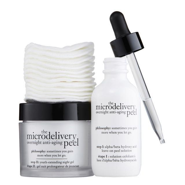 The Microdelivery overnight anti-ageing peel