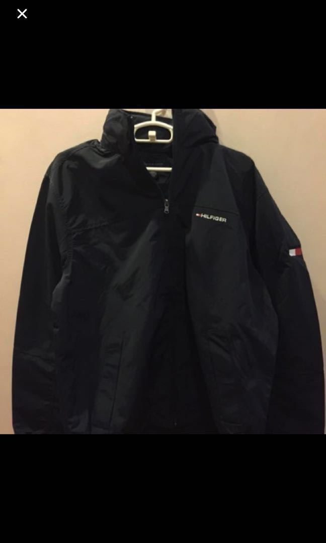 1337cb8b Tommy Hilfiger jacket, Men's Fashion, Clothes, Outerwear on Carousell