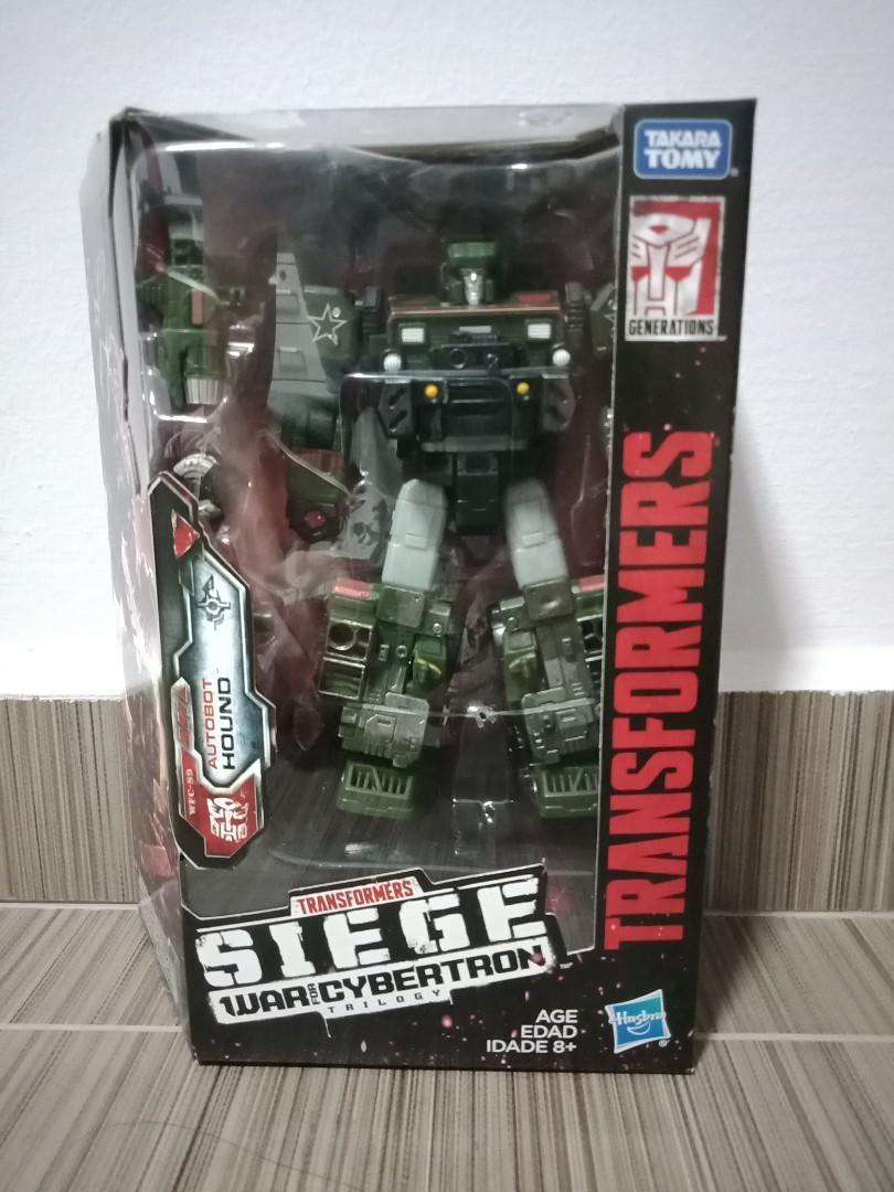 Actionfigur Autobot Sixgun SG-18 Siege Transformers War for Cybertron Edition