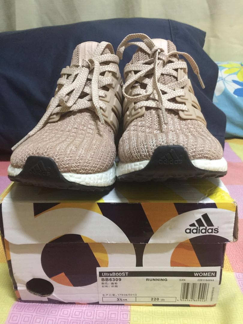 22a156537a9fe ULTRA Boost-Ash Pearl-size6 NEW