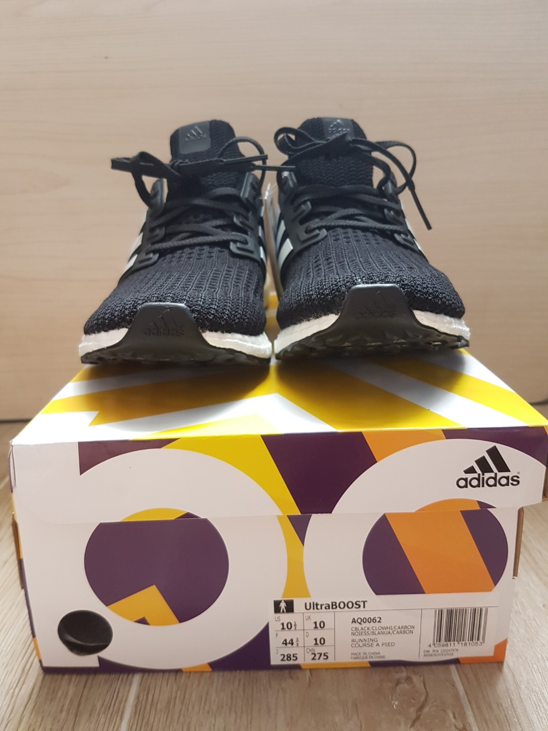 d5e392171730a 🔥US10.5🔥 Adidas UltraBoost 4.0  Show Your Stripes  Core Black ...