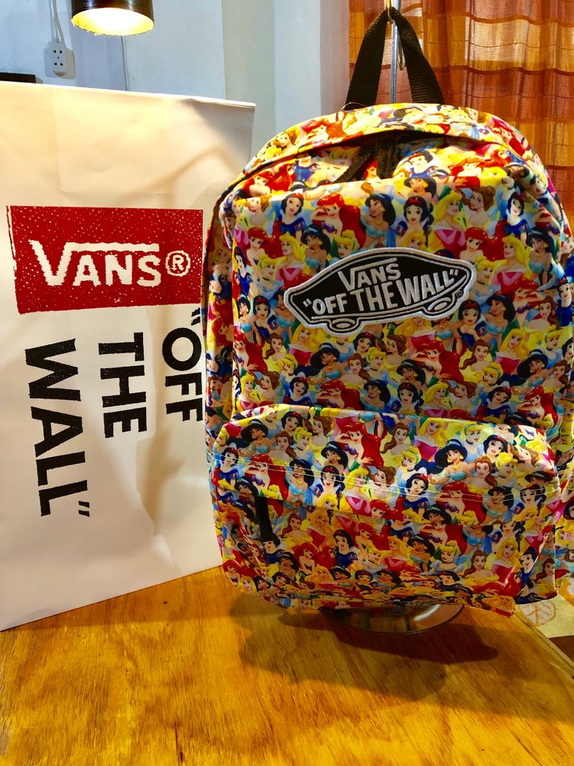 07474480cae0 Vans disney princess backpack womens fashion bags wallets on carousell jpg  810x1080 Vans princess backpack