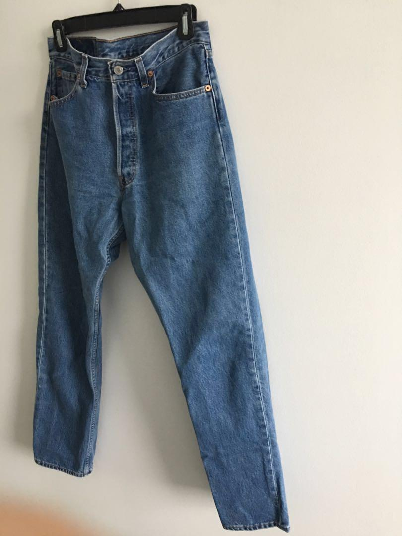 Vintage High Waisted 501 Denim Levi's