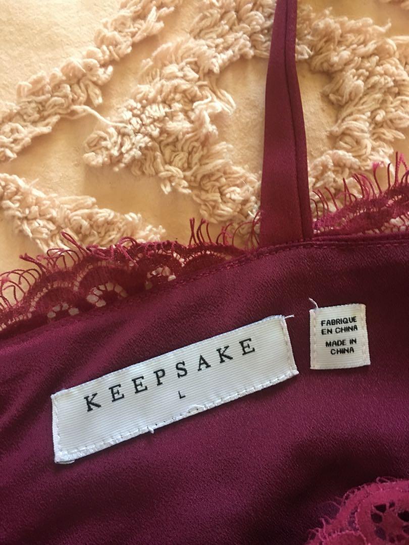 Womens Keepsake L Lace Dress RRP$349