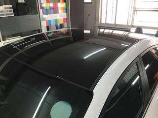 Elantra roof wrapping