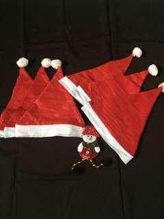 Bundle santa hats