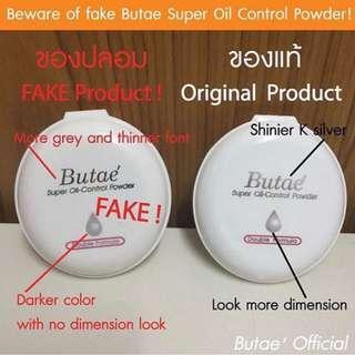 Butae Super Oil-Control Pressed Powder Make Up