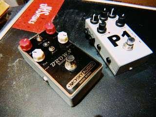 Guitar pedal AMT P1 distortion EVH wampler pinnacle clone overdrive單塊 效果器 (not boss mxr ehx)