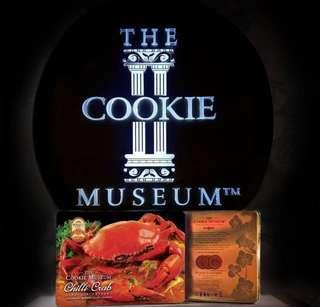 新加坡預訂代購cookies museum crab cookies