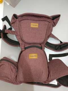 9成五新韓國 Capella 嬰兒 BB揹帶 腰凳