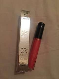 Lancome L'absolu gloss sheer 141