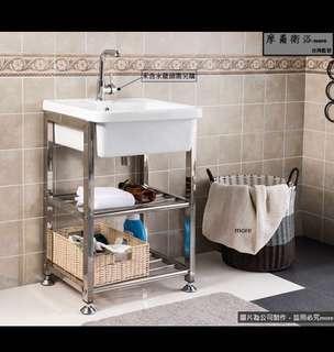More衛浴 公司貨 熱銷組 工業風洗手檯 60cm ㄧ年保固蝦皮:dean615