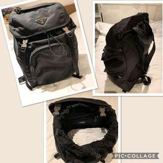 prada backpack authentic  0cb5527617a04