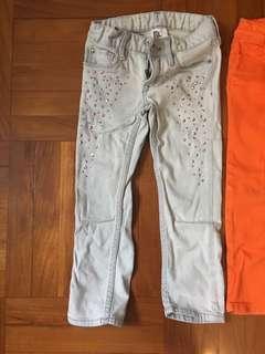 4歲女童長褲