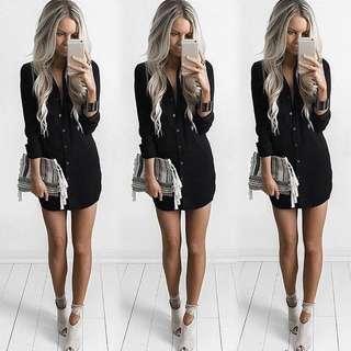 Women Summer Casual Long sleeves chiffon blouse loose top