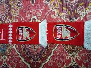Official Arsenal FC Scarf Original Merchandise