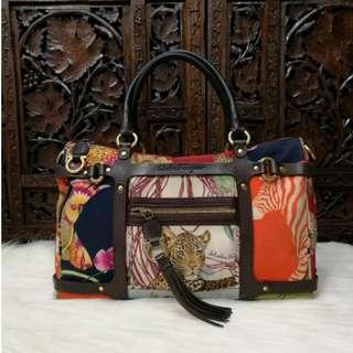 Salvatore Ferragamo Fiera Handbag   RARE   02c2fd6e47dc2