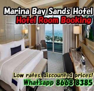 Marina Bay Sands Hotel - 27,28,29,30 December